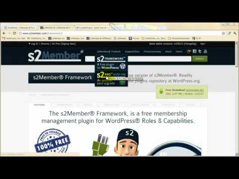 s2Member® _ A powerful (free) membership plugin for WordPress®.FLV