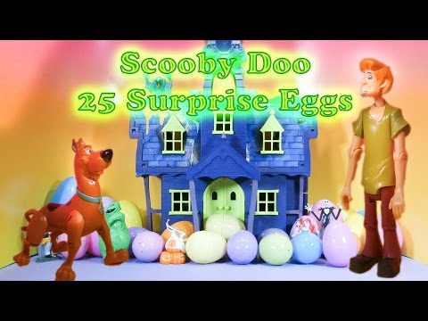 SCOOBY DOO The Scooby Doo Spooky Surprise Eggs a Scooby Doo Surprise Egg Video