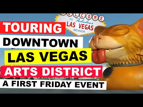First Friday Downtown Las Vegas October!