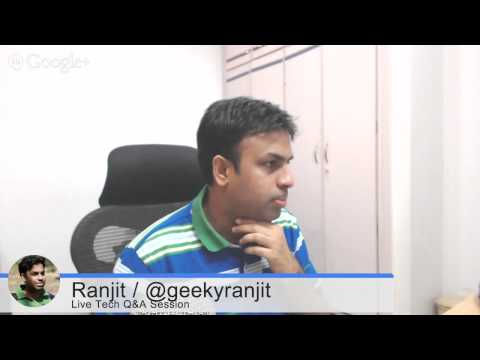 #48 Live Tech Q&A Session with Geekyranjit