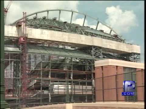 10 Years Ago: Crane Collapses At Miller Park