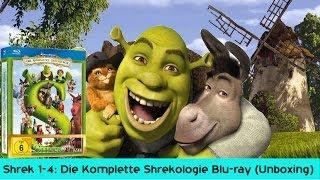 Shrek 1-4: Die Komplette Shrekologie [Blu-ray] Unboxing