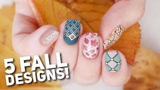 5 Matte Nail Art Designs For FALL! 🍂