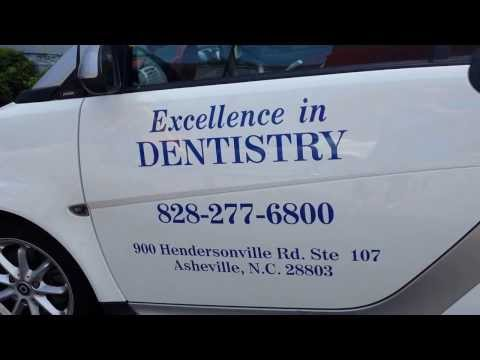 WNC Asheville Moving Company loves Dentistry: in Asheville smart car