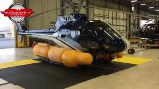 AS350 Floats Inflating