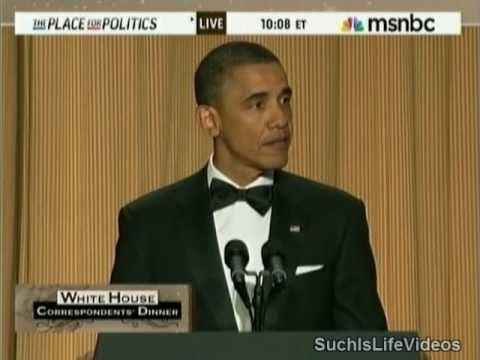 President Obama Roasts Donald Trump At White House Correspondents  Dinner!