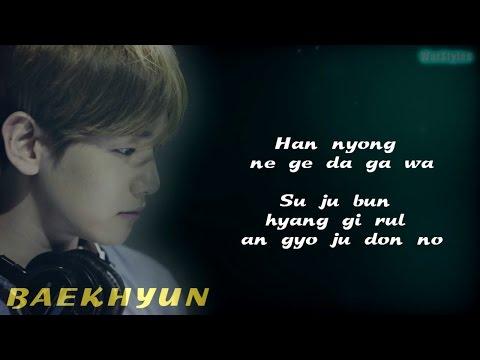 BAEKHYUN (EXO) - Beautiful (EXO NEXT DOOR OST) [Easy-Lyrics]