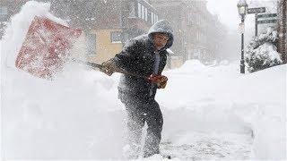 Канада 1218: Атмосфера монреальского утра под первый в году снегопад