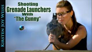 Shooting M32 Grenade Launchers   Kirsten Joy Weiss & The Gunny (R Lee Ermey) - Ep. 2