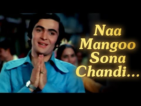 Naa Mangoo Sona Chandi - Bobby - Rishi Kapoor - Bollywood Evergreen...