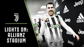 LIGHTS ON | Allianz Stadium: Juventus-Genoa unveiling our adidas x PALACE 4th kit