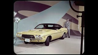 1972 Dodge Challenger Dealer Promo Film