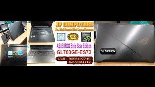"ASUS ROG Strix Scar Edition GL703GE-ES73 17.3"" Gaming Laptop, 8th-Gen 6-Core Intel Core i7-8750H"