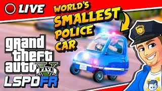GTA 5 LSPDFR POLICE MOD The Smallest Police Car is Back! | Realistic Police Mod