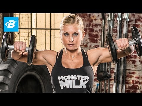 Brittany Tacy's Bikini Pro Shoulder Workout