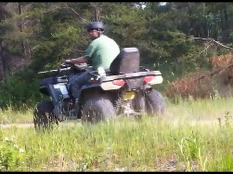 Quading & Hunting (Reynolds Ponds Manitoba)