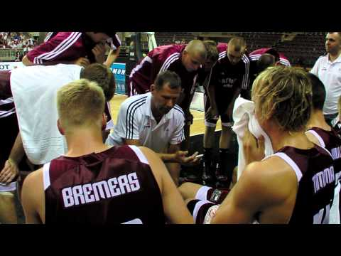 FIBAU19 - Poland v Latvia post game interview