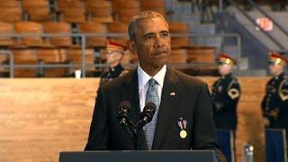 Obama: World seeks leadership of US military