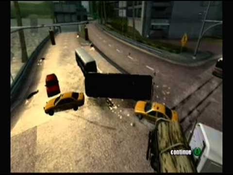 Burnout 2 - Crash Mode - Cross Traffic Crash/26 - 62 Million