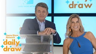Daily Draw $500 winner with Trish Suhr | June 15th, 2018 | Game Show Network