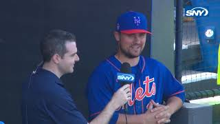 J.D. Davis opens up about being on the Mets and how the team gets along
