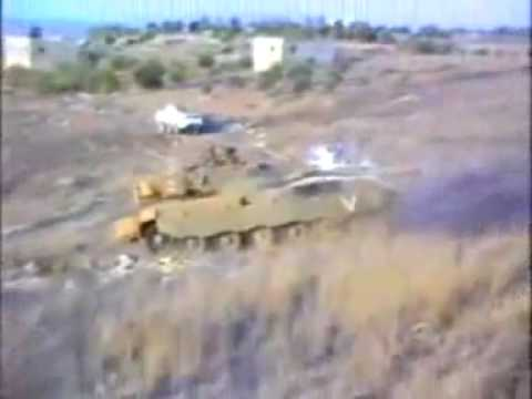 Israel army Tank attacks Finnish UN People Carrier inside Lebanon