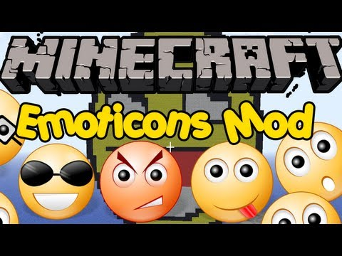Minecraft Mods - EMOTICONS MOD! USE COOL SYMBOLS IN CHAT! [1.4.5]