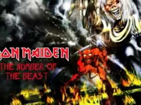 Iron maiden violin