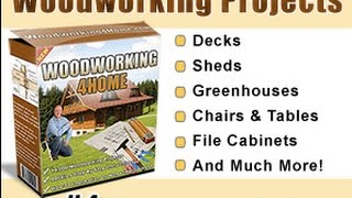 woodworking 4 home review | build yourself furniture plans