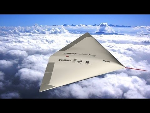 Airbus Defence and Space - Sagitta UCAV Concept Pics [1080p]