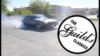 Car cruise visits the location of Restoration Garage