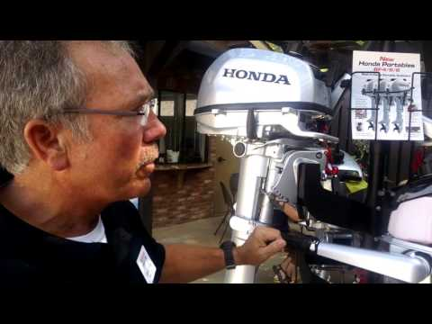Honda Marine BF4, BF5 and BF6 outboards