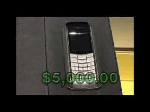 worlds most expensive cell phone