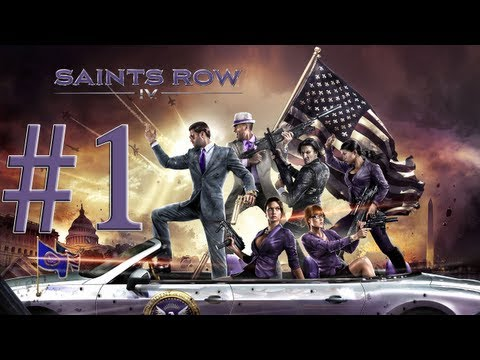 Let's Play (Blind) Saints Row 4 (PS3) Part 1 Zero Saints Thirty