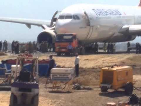 Turkish Airlines crash landed (TK726) at Kathmandu Nepal