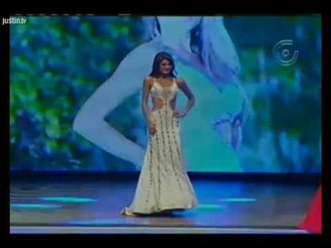Miss Ecuador 2013 Evening Gown