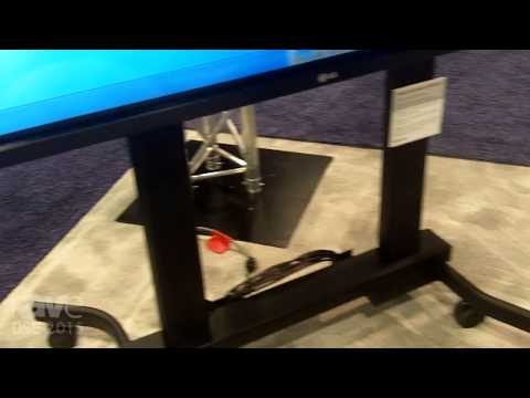DSE 2015: Crimson AV Showcases Mobile Cart for Displays 60 Inches and Up