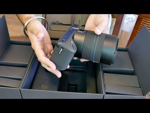Lytro Illum Lightfield Camera Unboxing - 4K UltraHD
