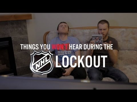 0 Best of YouTube: Things you wont hear during the NHL lockout