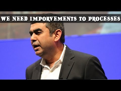 Exclusive interview with Vishal Sikka, Infosys CEO