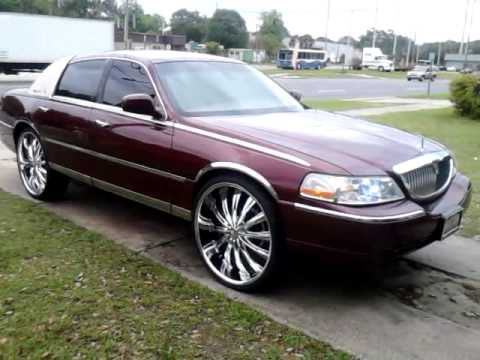Lincoln Town Car Bentchi 26s Youtube
