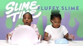How to Make Fluffy Slime | Slime Time | HiHo Kids