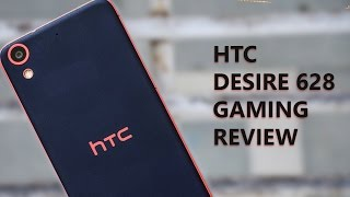 HTC Desire 628 Gaming Review with Heavy Games