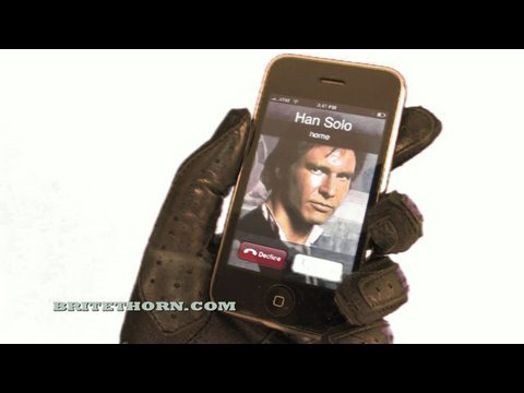 Darth Vader s iPhone (HD)