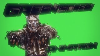 First ZOMBIE green screen animation ! [MUST WATCH]