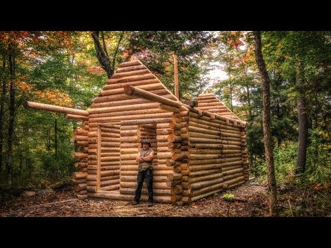 Log Cabin Build: You Can Do This Too