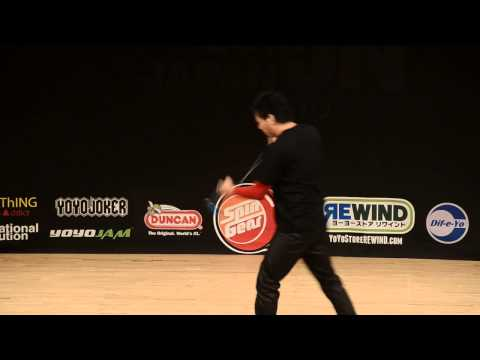 C3yoyodesign presents: 2013 Japan National Yoyo Contest 1A 4th Shinya Kido
