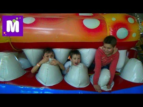 ВЛОГ детский развлекательный центр и встреча с подписчиками в Sky Park