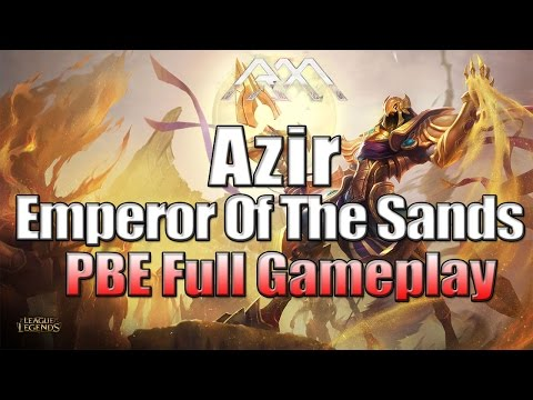 Azir Gameplay - League of Legends - Full Game Commentary