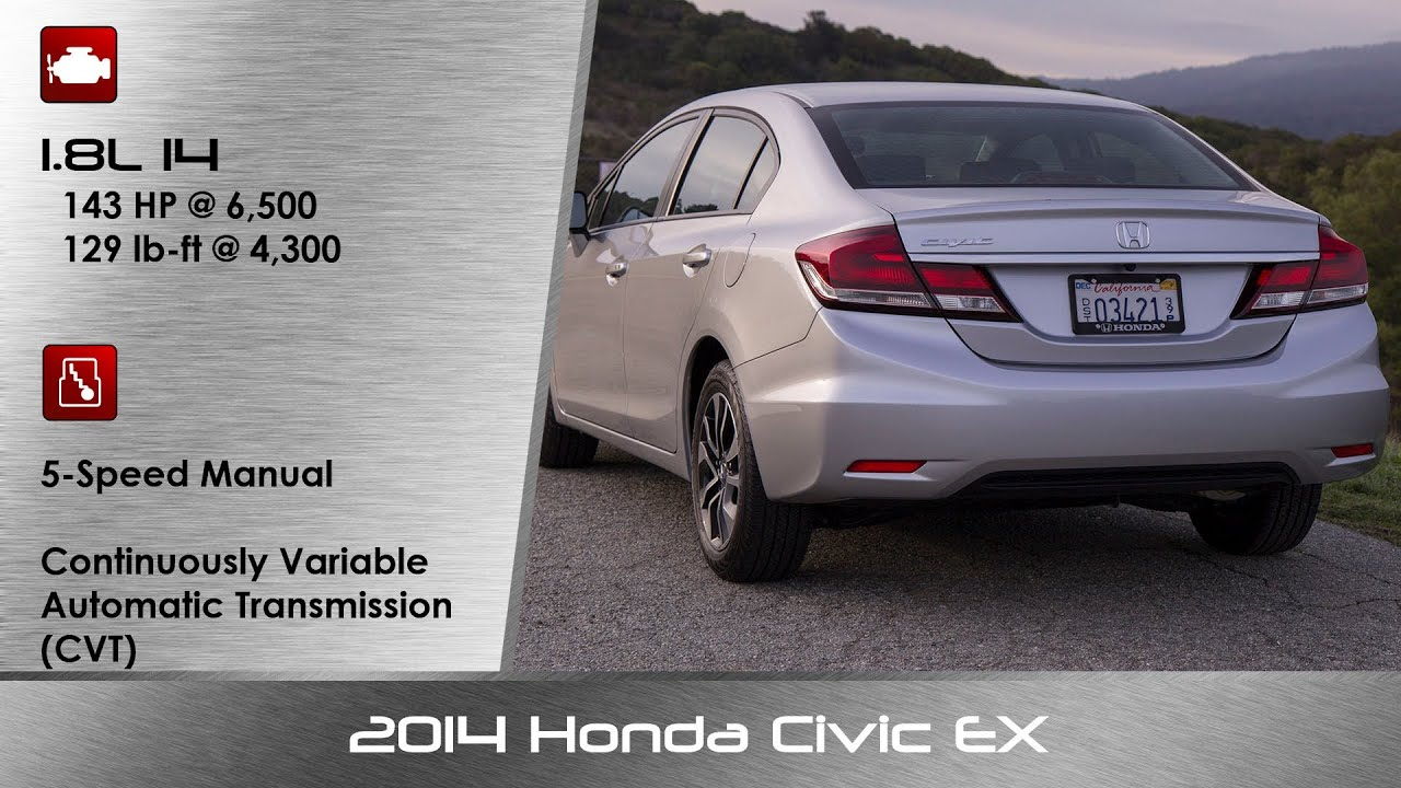 2014 / 2015 Honda Civic EX Review and Road Test - YouTube